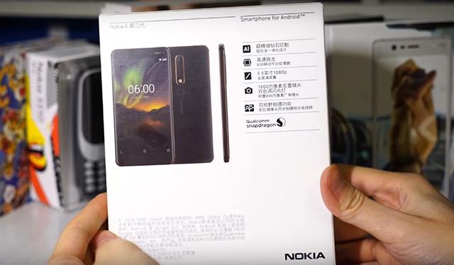 Cấu hình Nokia 6 (2018)