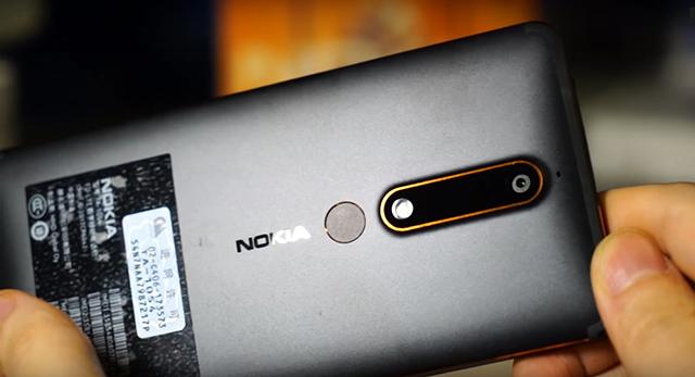 Camera Nokia 6 (2018)