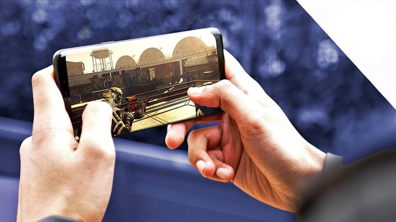 Chơi game trên Samsung Galaxy S9 Plus 64GB - Thegioididong.com