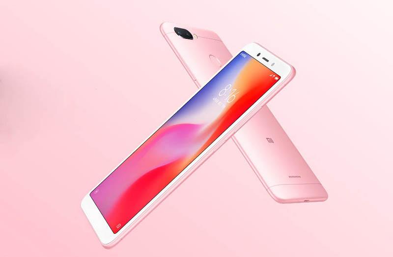 Màn hình của Xiaomi Redmi 6