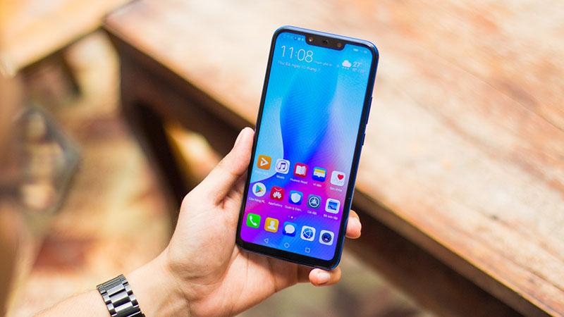 Màn hình của điện thoại Huawei Nova 3i