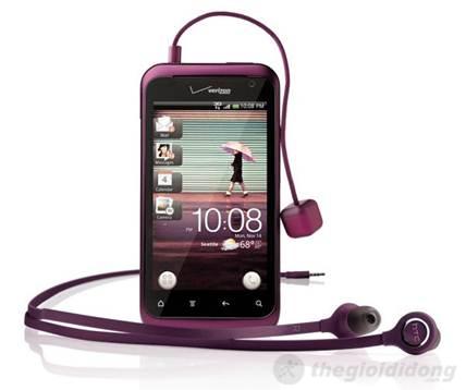 HTC Rhyme với phong cách năng động