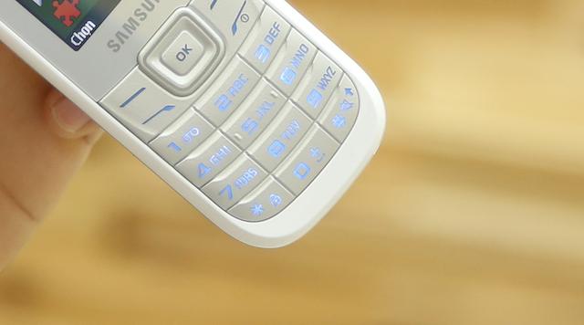 Bàn phím được ngăn cách rõ ràng để dễ dàng ấn hơn