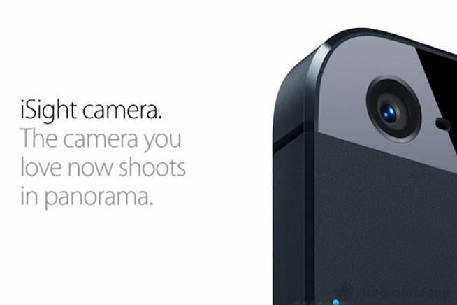 camera 8.0 Mp của iphone 5