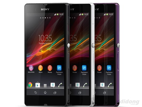 Xperia Z chạy Android 4.1.2 Jelly Bean