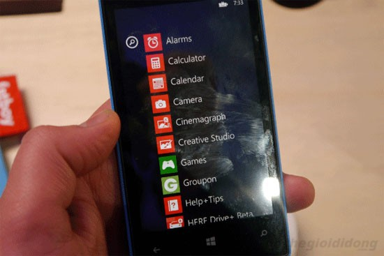 Nokia Lumia 520 - Màn hình rõ nét