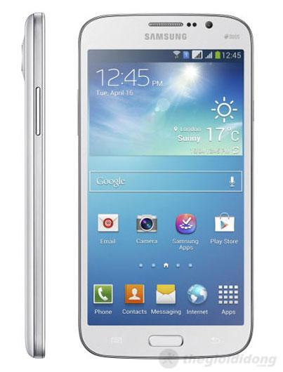 Thiết kế đẹp và mỏng của Samsung Galaxy Mega 5.8 Duos