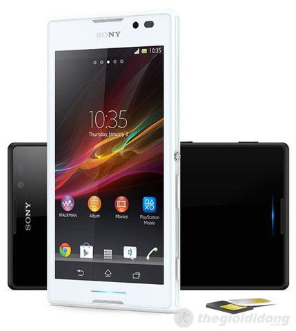 Sony Xperia C hỗ trợ 2 sim