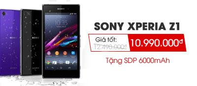 Điện thoại di động Sony Xperia Z1