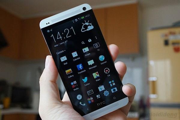 Smartphone chuyên nghiệp HTC One được thiết kế khá công phu