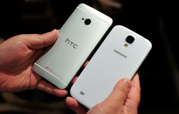 Chất liệu tạo nên HTC One sang và tốt hơn hẳn Galaxy S4