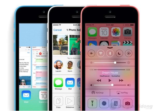 iPhone 5C hoạt động cực kỳ ổn định