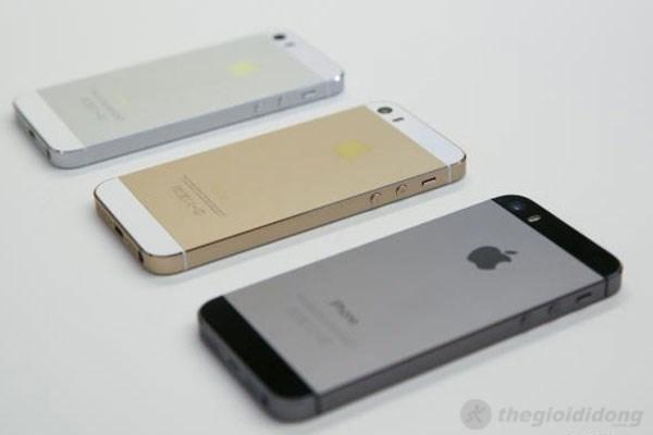 iPhone 5S bản nâng cấp đáng giá của iPhone 5
