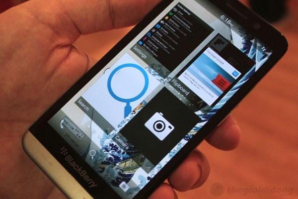 BlackBerry 10.2 mang đến nhiều điều thú vị hơn cho BlackBerry Z30