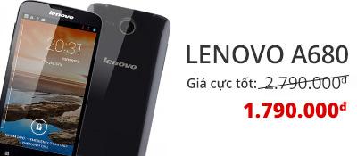 Điện thoại di động Lenovo A680