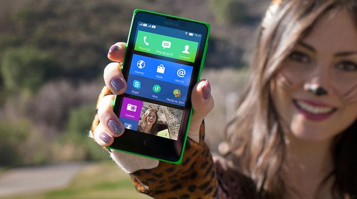 Nokia X - thiết kế