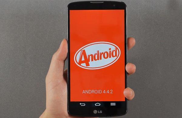 LG G Pro 2 được cài sẵn KitKat Android 4.4 khi khui hộp