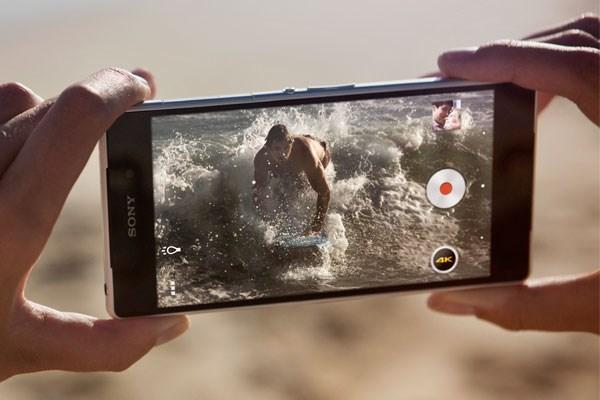Xperia Z2 camera chất lượng 4K