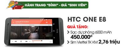 Điện thoại di động HTC One E8