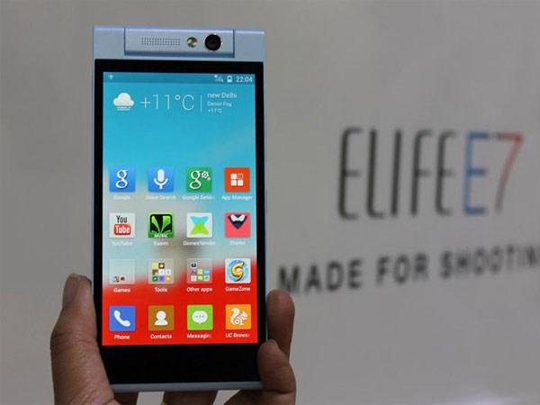 Gionee Elife E7 Mini smartphone giá rẻ