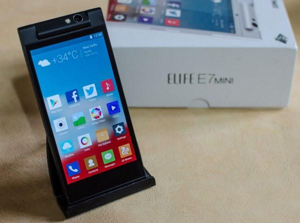 Gionee Elife E7 Mini màn hình igzo