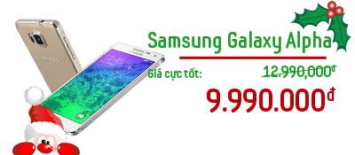 Điện thoại di động Samsung Galaxy Alpha