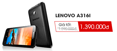 Điện thoại di động Lenovo A316i