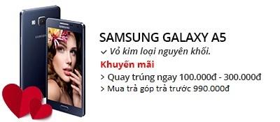 Điện thoại di động Samsung Galaxy A5