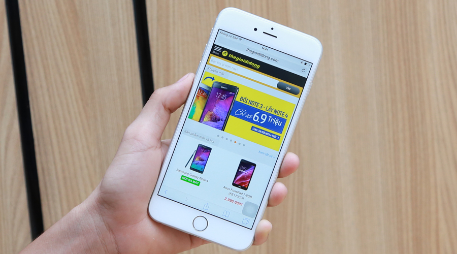 Thiết kế iPhone 6 Plus 64GB