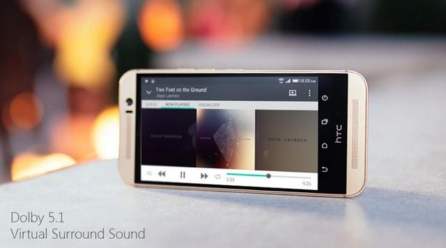 Hệ thống loa BoomSound chất lượng trên HTC One M9