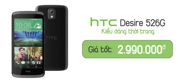 Điện thoại di động HTC Desire 526G