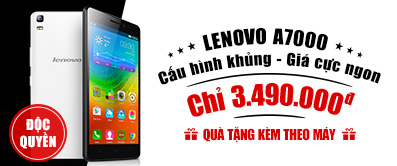 Điện thoại di động Lenovo A7000