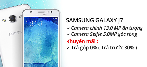 Điện thoại di động Samsung Galaxy J7