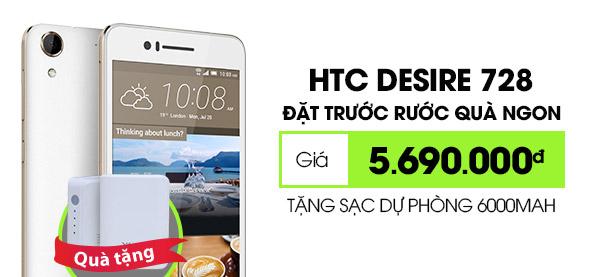 Điện thoại di động HTC Desire 728G