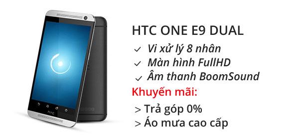 Điện thoại di động HTC One E9 Dual