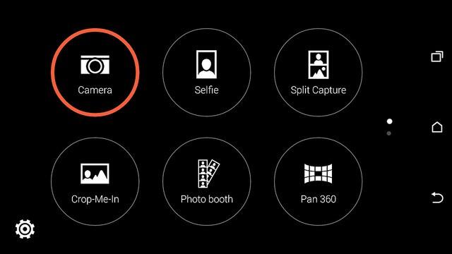 Tính năng Split Capture cho phép bạn sử dụng đồng thời camera trước và sau, PAN 360 giúp bạn thu được hết hình ảnh xung quanh bạn, tính năng Face fusion thay đổi khuôn mặt cho giống người khác thể hiện rất mạnh mẽ….