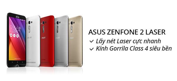 Điện thoại di động Asus Zenfone Laser