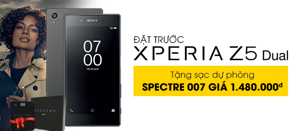 Điện thoại di động Sony Xperia Z5