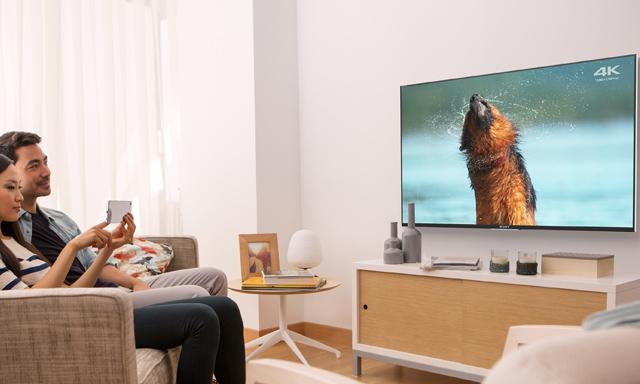 trình chiều video 4k lên tivi