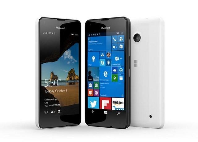 Lumia 550 - tích hợp Windows Phone 10 giá rẻ