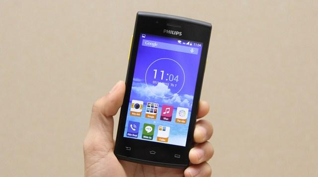 Philips S307 – Smartphone giá rẻ, thiết kế đẹp mắt