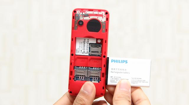 Philips luôn nổi tiếng bởi những chiếc điện thoại có thời lượng sử dụng pin lâu dài
