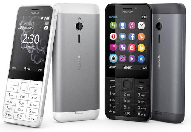 Các phím bấm trên Nokia 230 Dual Sim được làm theo dạng truyền thống, phân bố hợp lý, vừa vặn, tạo sự tiện lợi trong từng thao tác của người dùng