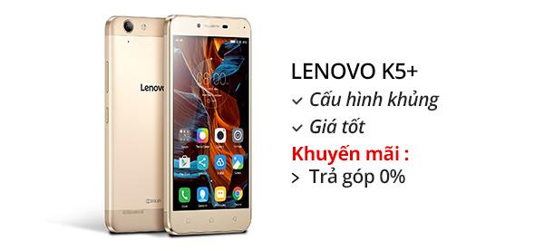 Điện thoại di động Lenovo VIBE K5+