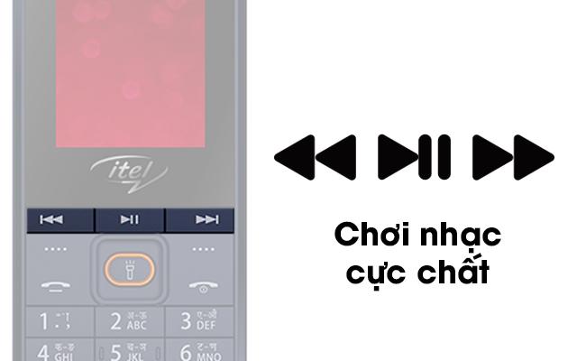 Itel it2180 - Sành điệu với 3 phím ấn thao tác mở nhạc