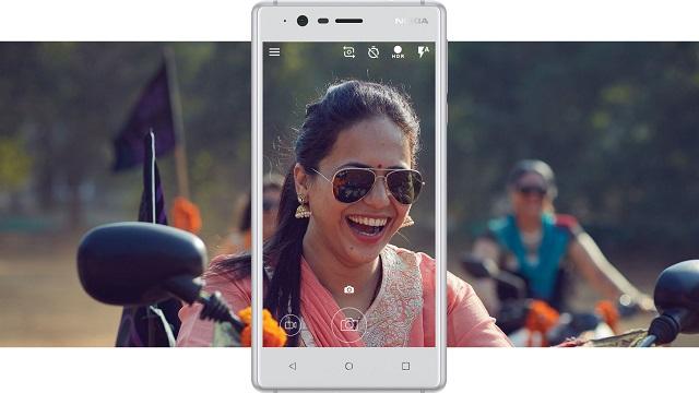 Nokia 3 - 2 camera cùng độ phân giải