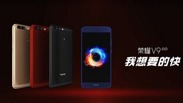 Huawei Honor V9 - Thiết kế hiện đại