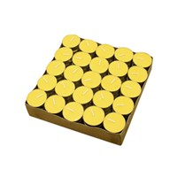 Nến Tealight bông vàng Milaganics 8g hộp 100 viên