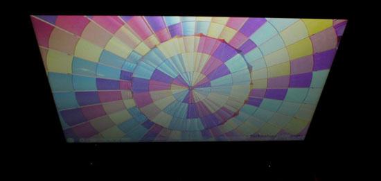 Chất lượng hiển thị ở các góc nhìn khác nhau của HP Folio 13
