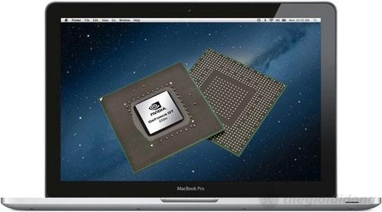 MacBook Pro MC975 tích hợp card đồ họa rời Nvidia GeForce GT 650M 1GB
